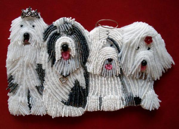 Собака: символ Нового 2018 года своими руками, фото