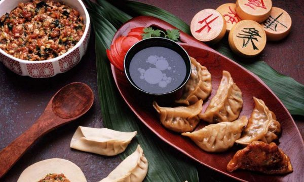 Китайские пельмени - традиционное блюдо на Новый год