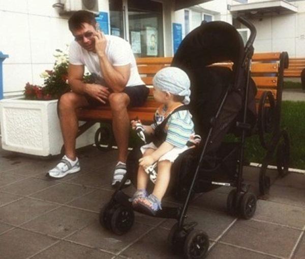 Стас Пьеха и его сын
