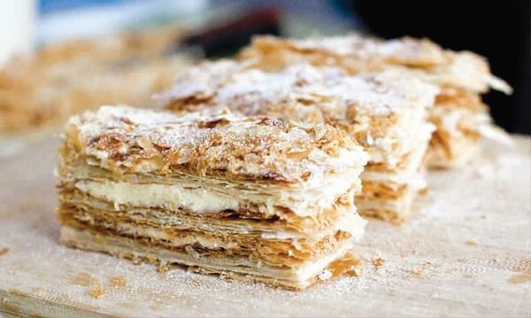 Хрустящий торт с арахисом
