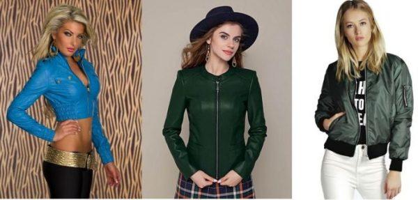 Модные женские куртки на весну