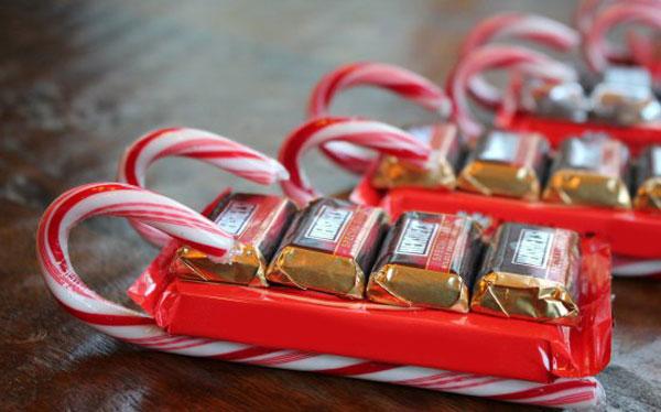 Как сделать сладкие подарки на Новый год 2018 детям