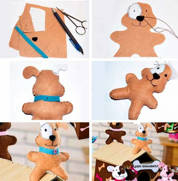Образец собаки с пятнышком