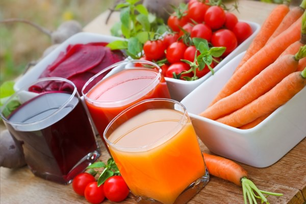 Свекольный сок можно смешивать с другими овощными соками