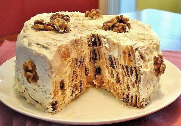 """Оригинальный торт """"Трухлявый пень"""""""