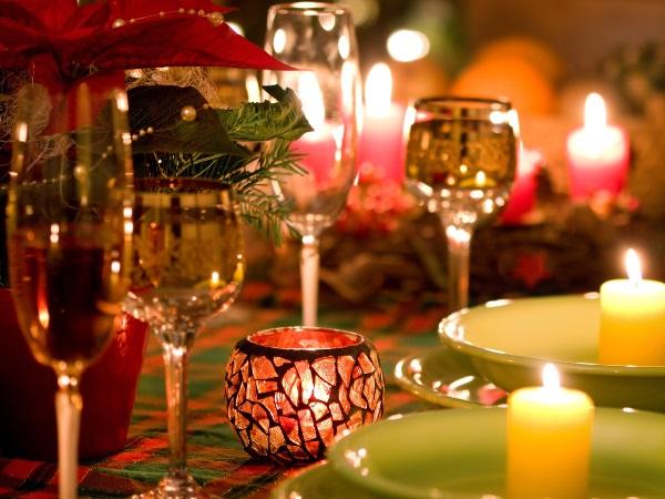 Свечи создадут уютную и теплую обстановку