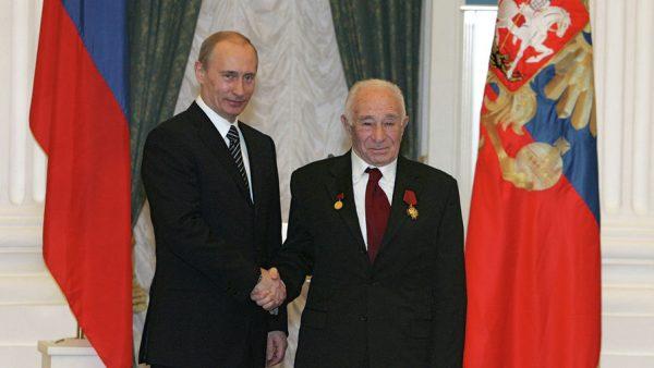 Георгий Натансон и Владимир Путин