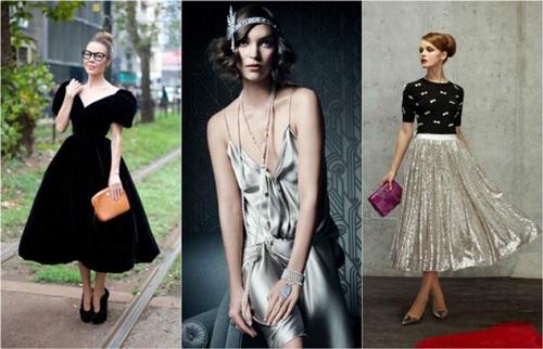 Стильные наряды в ретро стиле