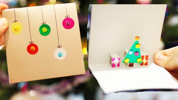 Праздничная открытка «на скорую руку»