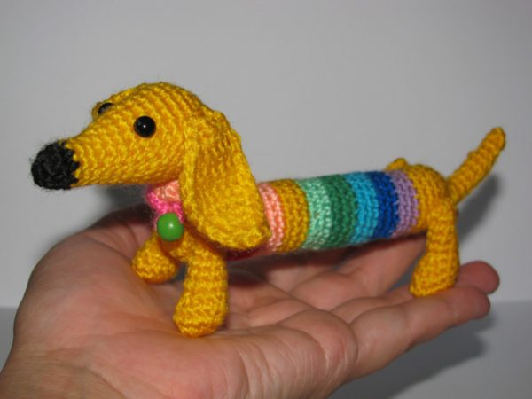Символ 2018 года собака крючком: мастер-классы, схемы вязания, фото