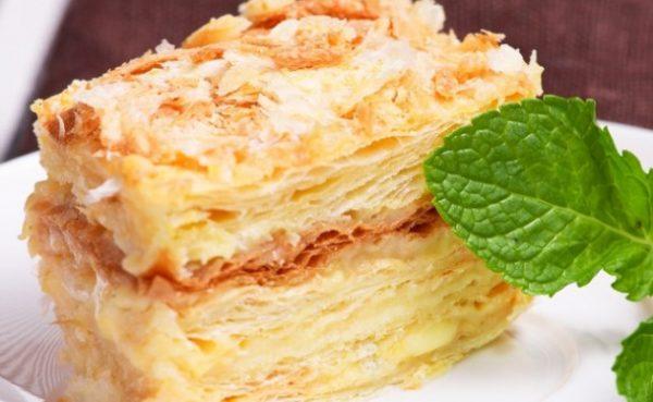 """Вкусный торт """"Наполеон"""""""