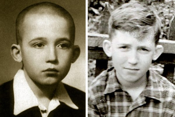 Вячеслав Малежик в детстве