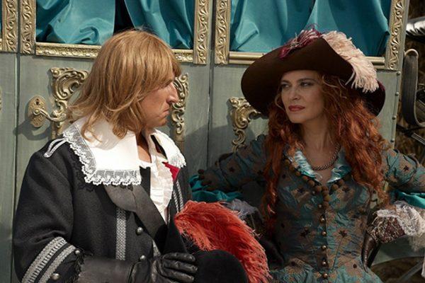 """Актриса на съемках сериала """"Возвращение мушкетеров"""""""