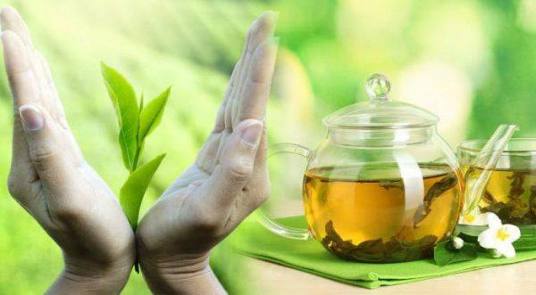 Зеленый чай нашел свое применение в косметологии