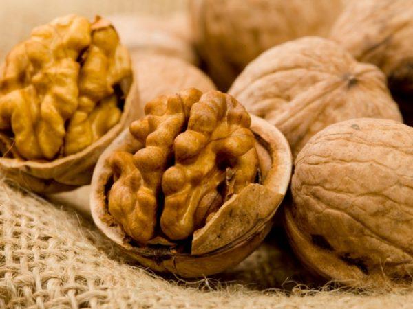 Грецкие орехи также подойдут для очищения