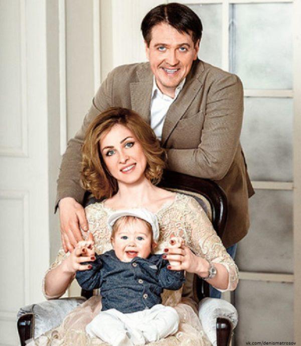 После развода с Марией Денис Матросов женился второй раз