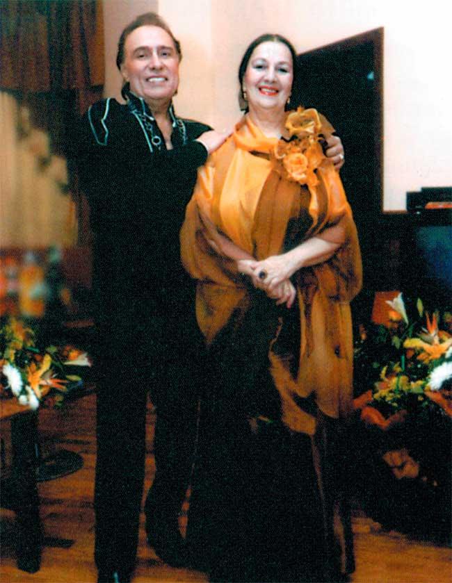 Тамила Агамирова и Николай Сличенко