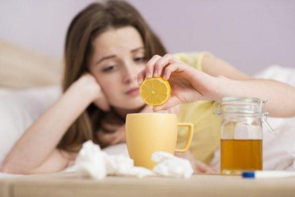 Польза лимона при простуде