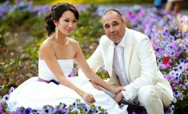 Дмитрий Соколов со своей второй женой