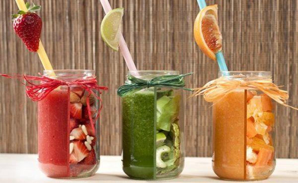 Очищение печени фруктовыми соками
