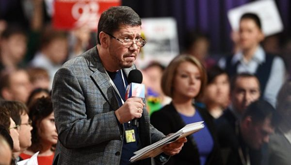 Известный журналист Олег Лурье