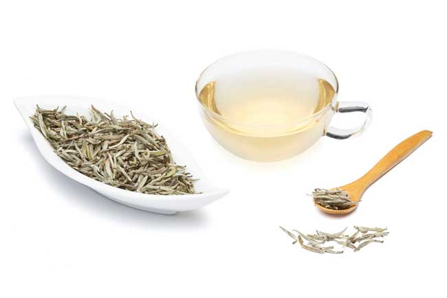 Белый чай, фото