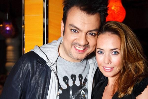 Жанна со своим другом Филиппом Киркоровым