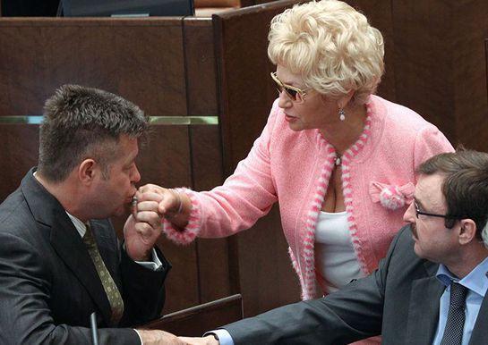 Людмила была депутатом Государственной думы