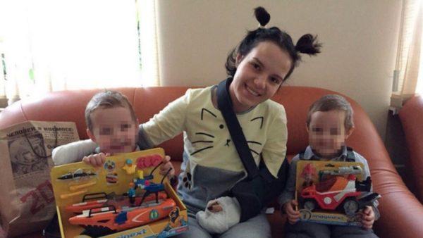 Маргарита Грачева сейчас со своими детьми