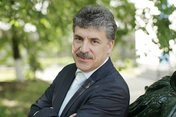 Павел Николаевич женат, имеет двух сыновей