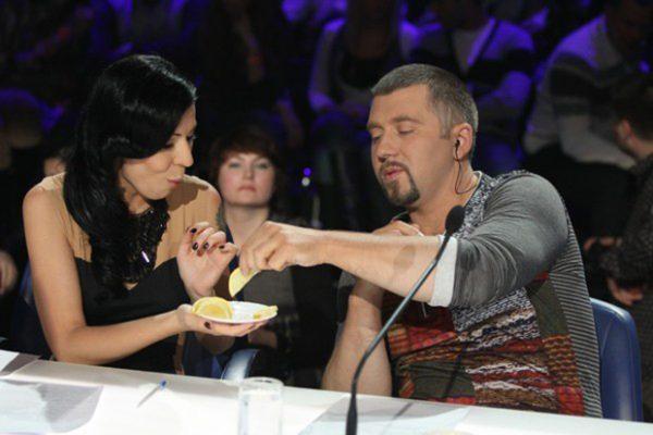 """Во время участия в жюри шоу """"Х-Фактор"""""""