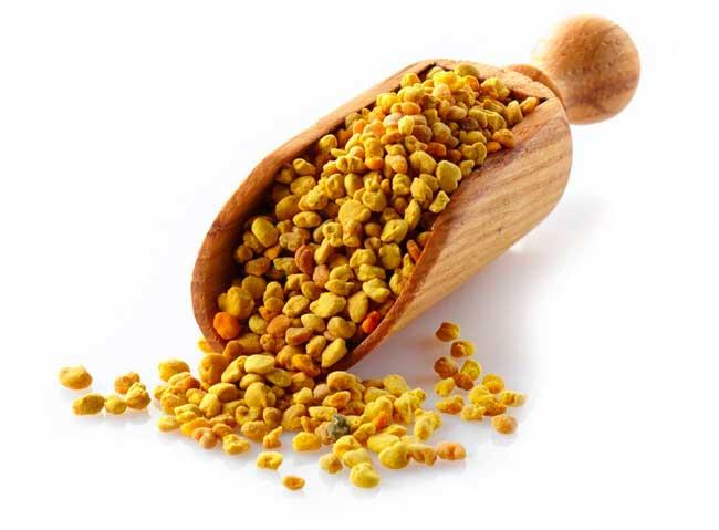 Пчелиная пыльца противопоказана людям с аллергией