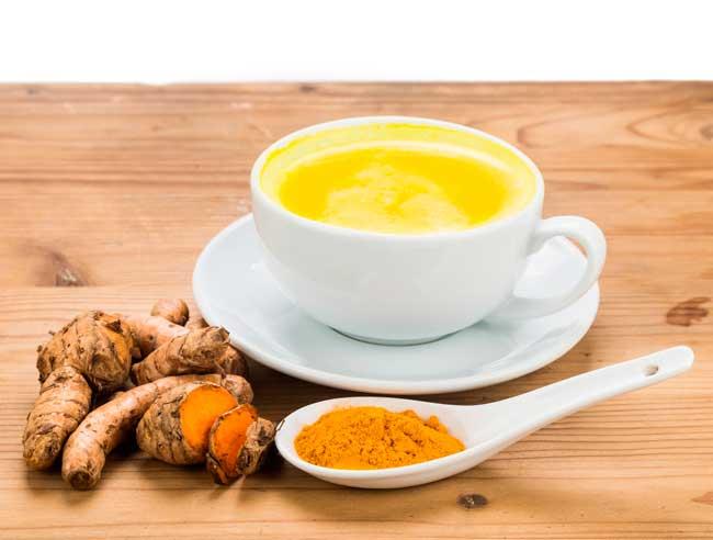 Куркума для похудения добавляется в чай