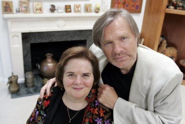 Актер со своей третьей женой