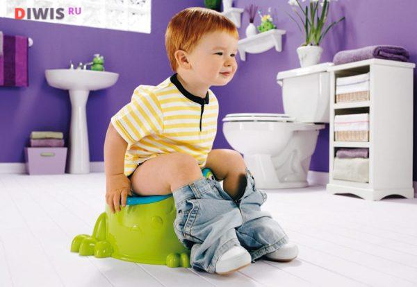 Как приучить ребенка к горшку в 2 года: доктор Комаровский
