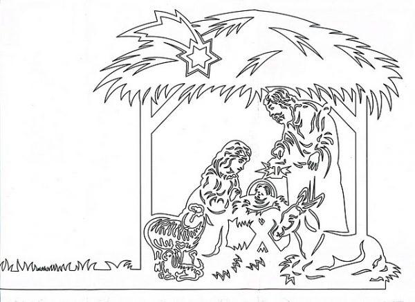 Рождественские вытынанки своими руками