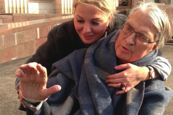 Петр Игенбергс с дочерью Марией Максаковой