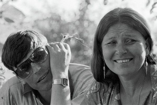 Актриса со своим супругом Геннадием Ворониным