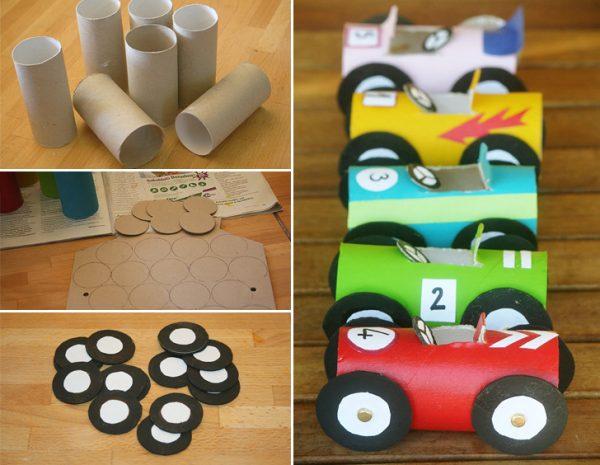 Как сделать гоночный автомобиль из картона