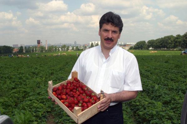 Павел Грудинин в молодости