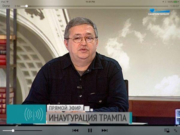 Винников вел свою программу на российском телевидении