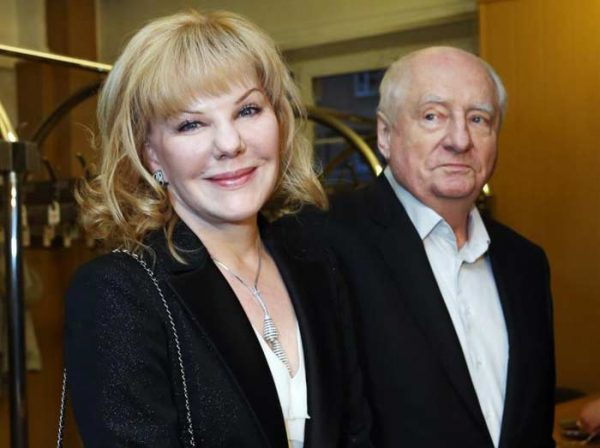 Александра со своим знаменитым отцом Марком Захаровым