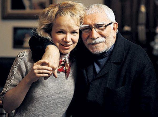 Виталина Цимбалюк-Романовская и ее бывший муж Армен Джигарханян
