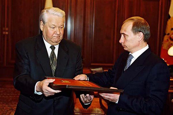 С Борисом Ельциным