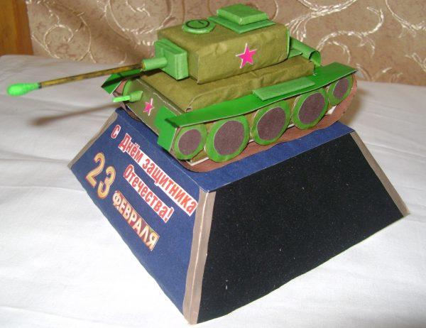 Как сделать танк своими руками