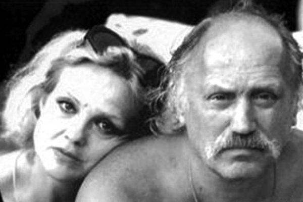 Актриса со своим мужем