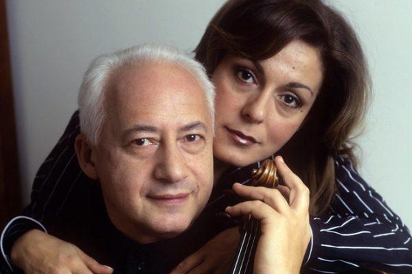 Владимир со второй женой Сати