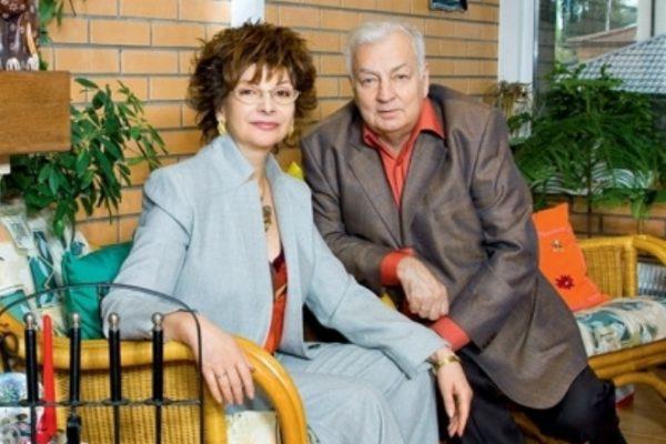 Со своим вторым мужем Михаилом Державиным