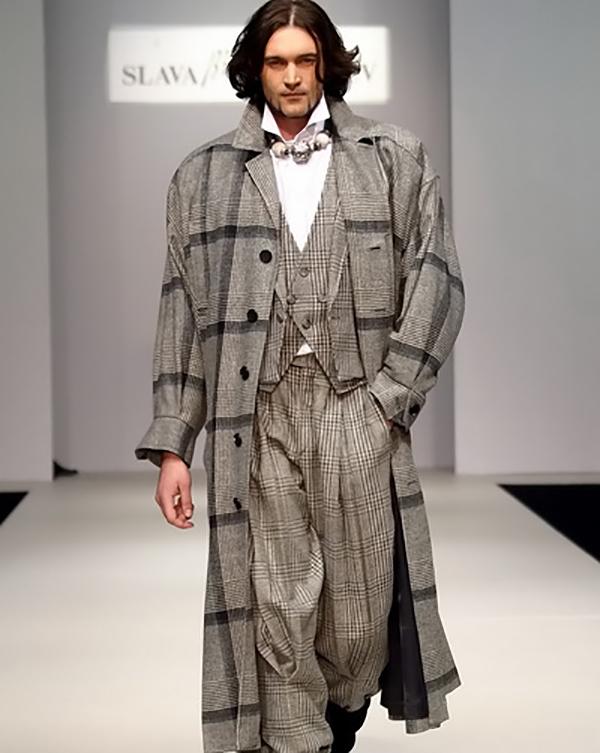 Некоторое время Селим работал моделью у самого Вячеслава Зайцева