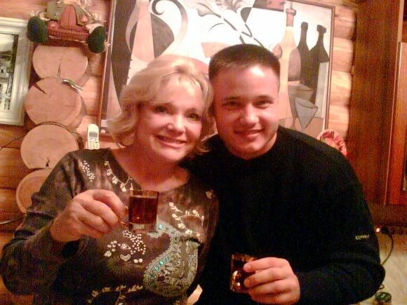 Екатерина со своим сыном